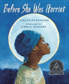 Book cover image of Before she was Harriet