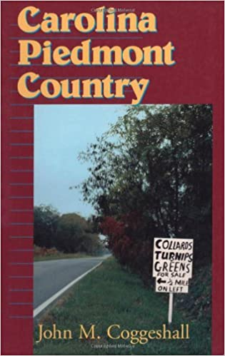 Book cover image of Carolina Piedmont country
