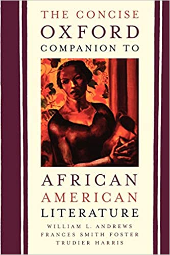 Book cover image of The concise Oxford companion to African American literature