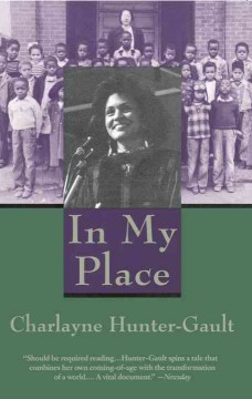 Book cover image of In my place /