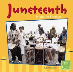 Book cover image of Juneteenth : jubilee for freedom