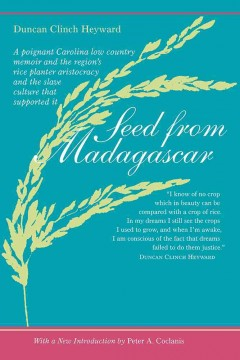 Cover image: Seed from Madagascar