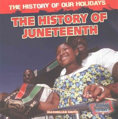 Book cover image of The history of Juneteenth