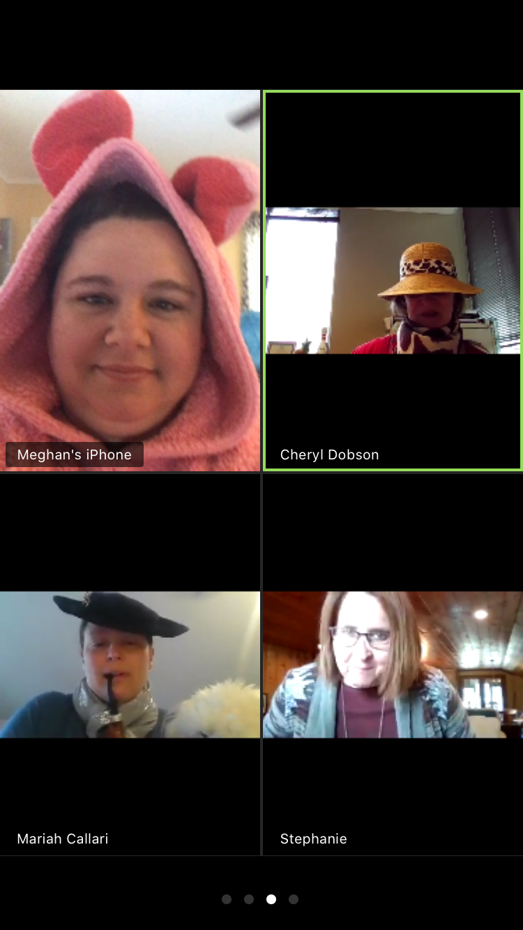 Office of the Registrar - First Zoom Meeting