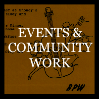 Events and Community Work