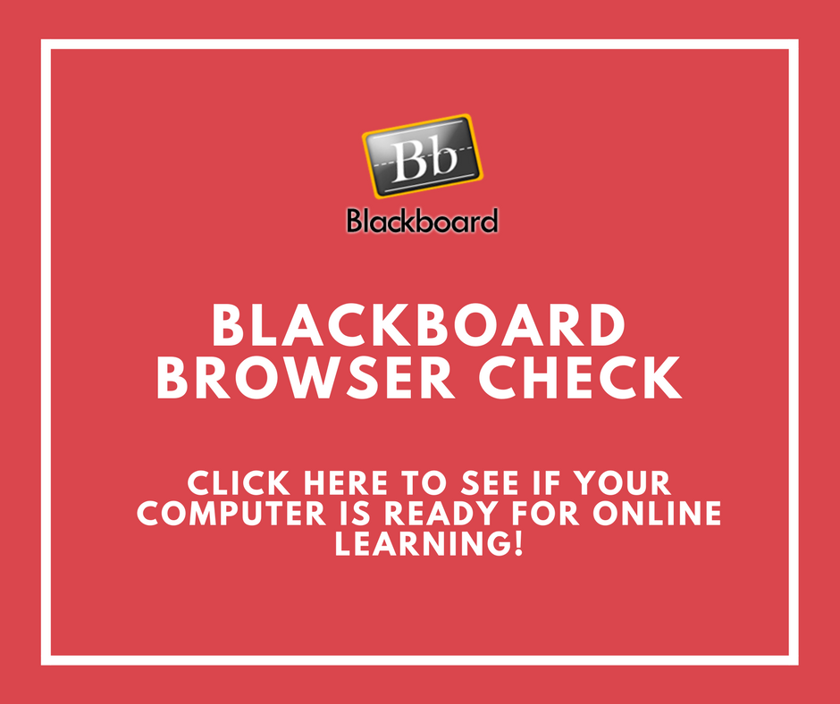 Blackboard Browser Check