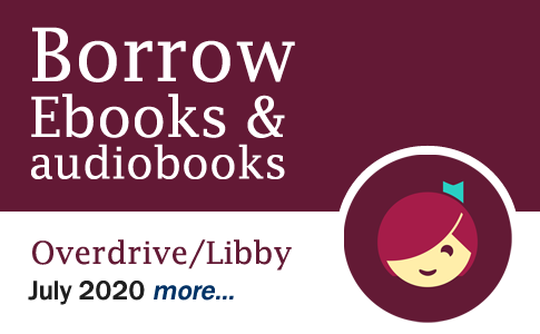 Borrow ebooks & audiobooks with Libby/Overdrive