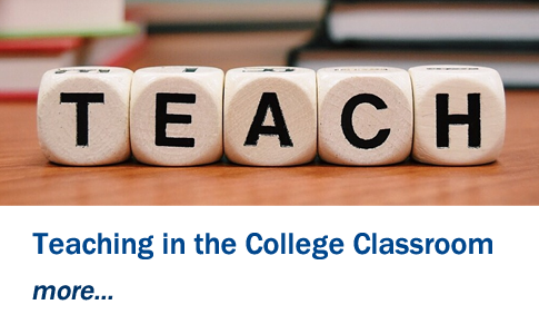Teacching in the College Classroom - Exhibit - August 2021