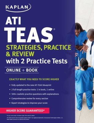 ATI TEAS : strategies, practice & review with 2 practice tests.