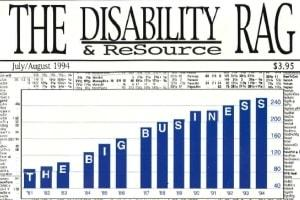 Cover image of The Disability Rag