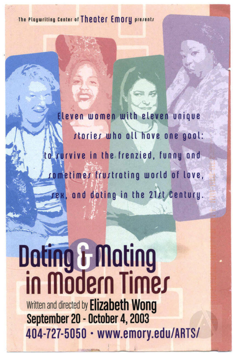 Postcard for Dating and Mating in Modern Times by Elizabeth Wong