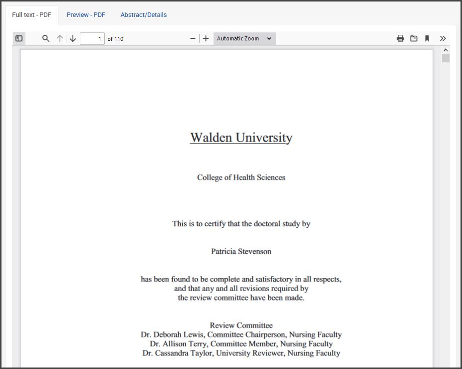 Dissertation document image