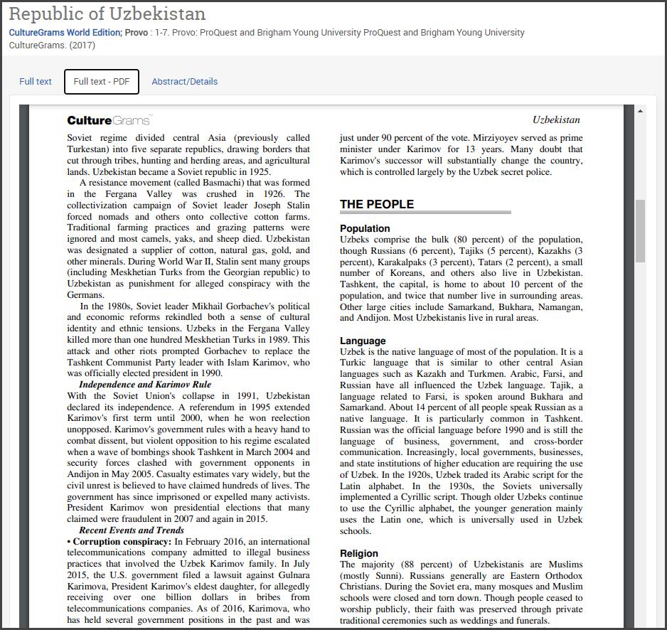 CultureGrams document image