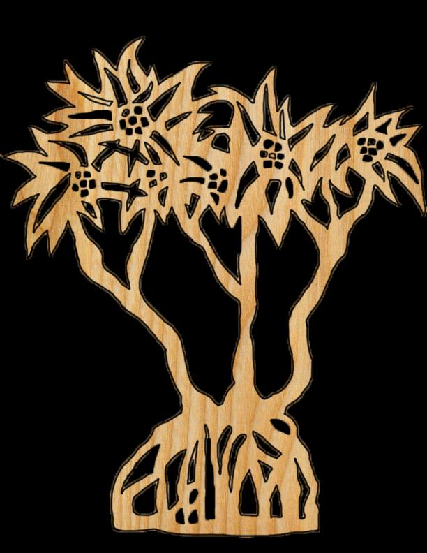 'Hala tree' designed by Kasey Kawaguchi