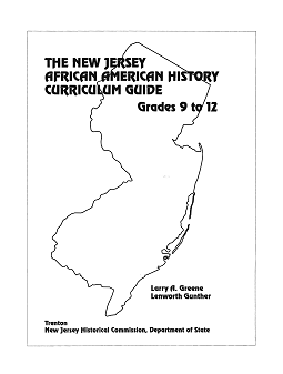 nj african american history curriculum cover image