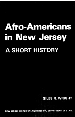 cover of Afro-Americans in New Jersey