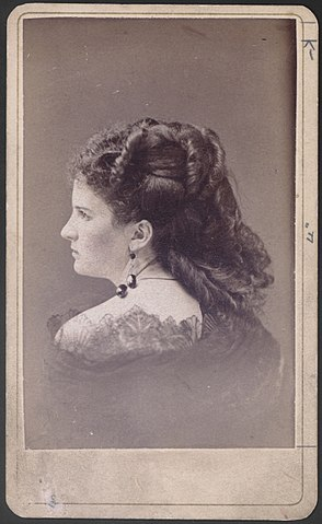 photo of Kate O'Flaherty (Kate Chopin), at the time of her marriage.