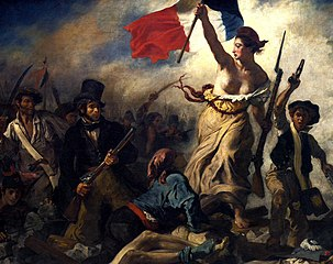 Liberty Leading the People (July 28, 1830), by Eugène Delacroix