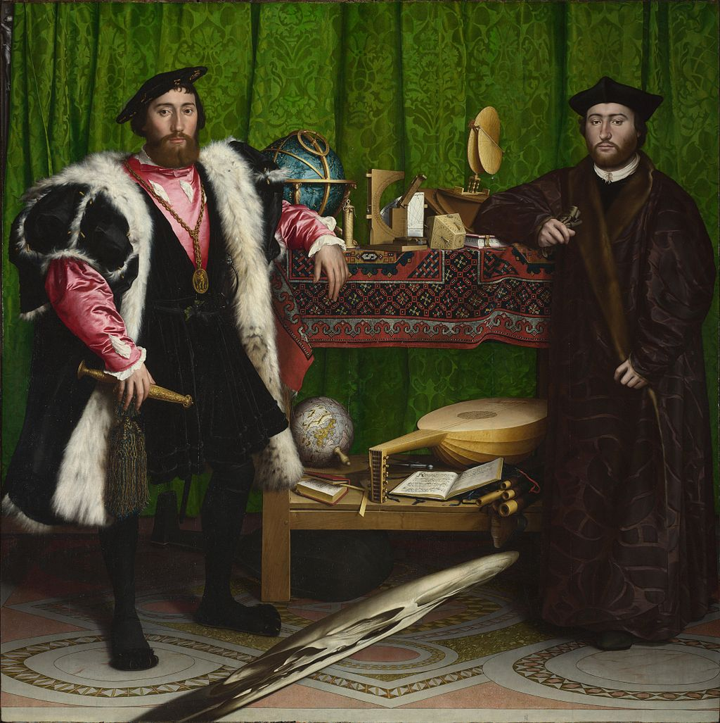Image: Hans Holbein, The Ambassadors, The National Gallery, London.