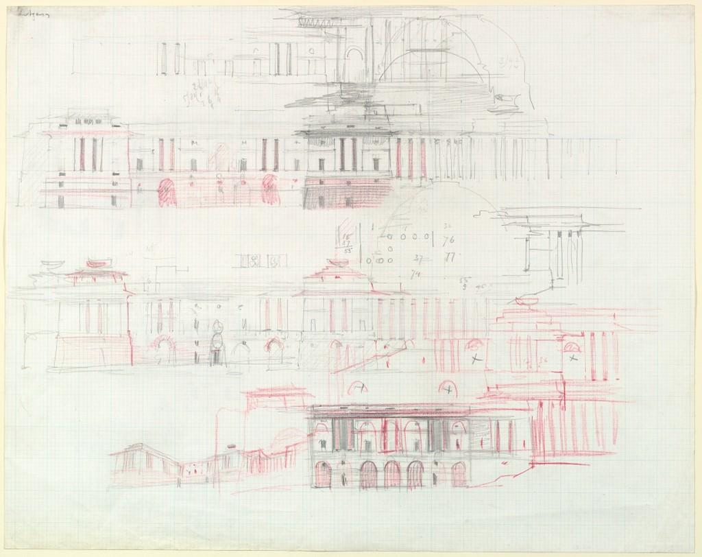 Edwin Lutyens,Imperial Delhica,ca. 1913-15.