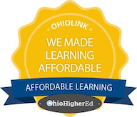 OhioLINK Affordable Learning Badge
