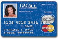 example of DMACC OneCard