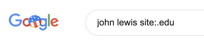 Google EDU Search
