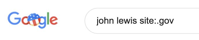Google GOV search
