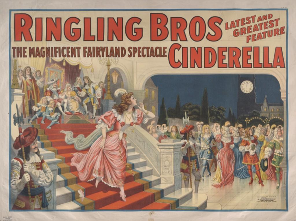 Ringling Brothers Cinderella advertisement