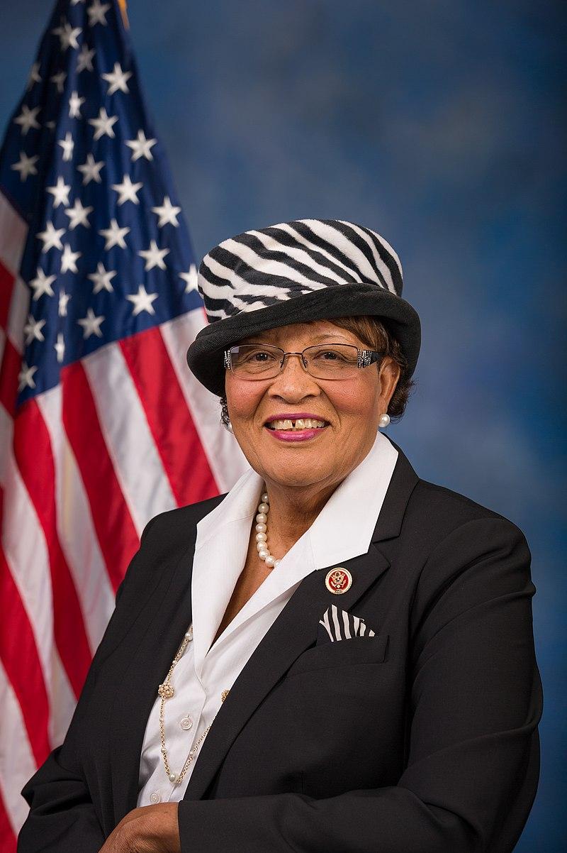 Alma Adams official portrait
