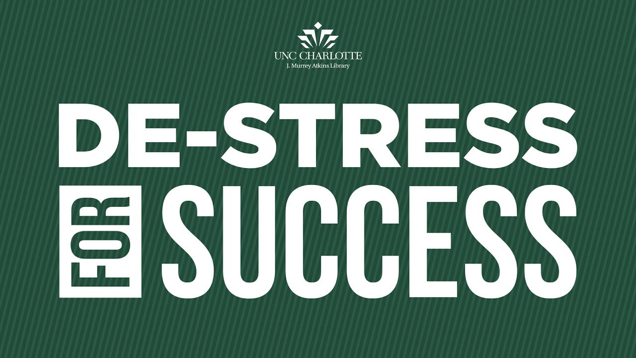 De-stress for success logo