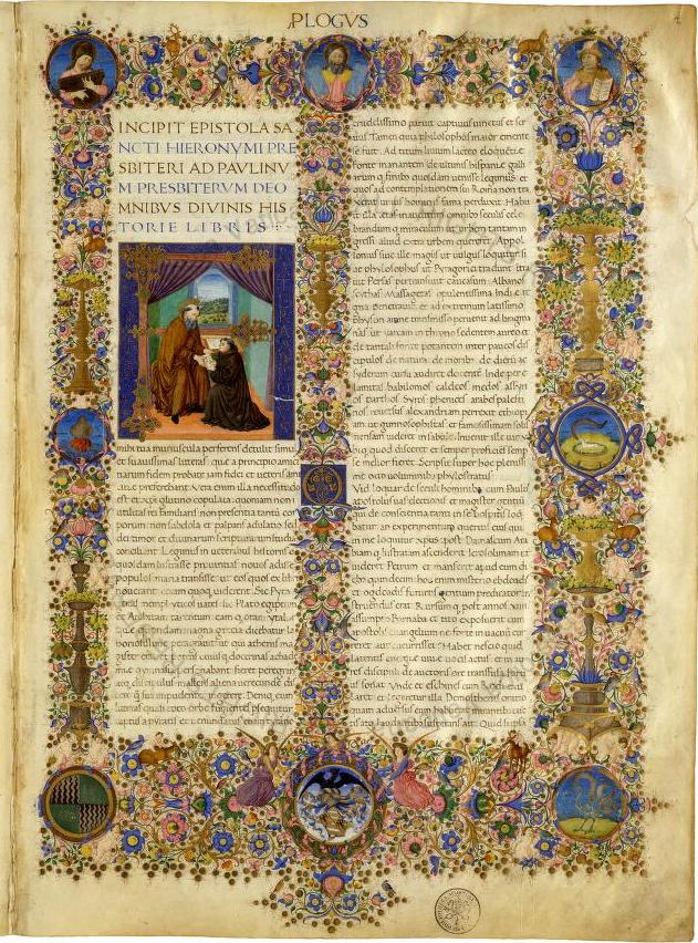 Image of manuscript page from Digital Vatican Library