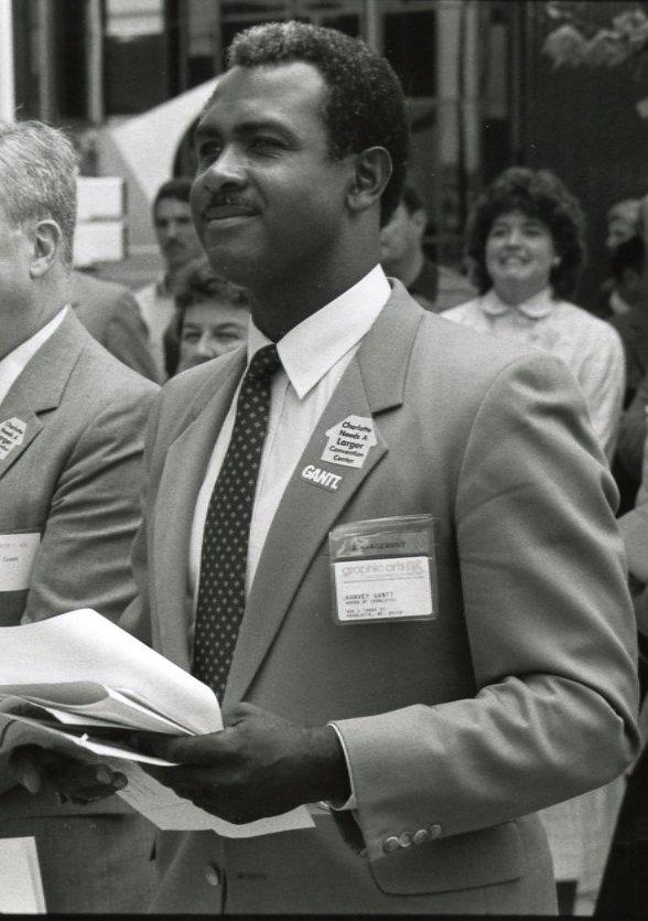 Photo of Harvey B. Gantt