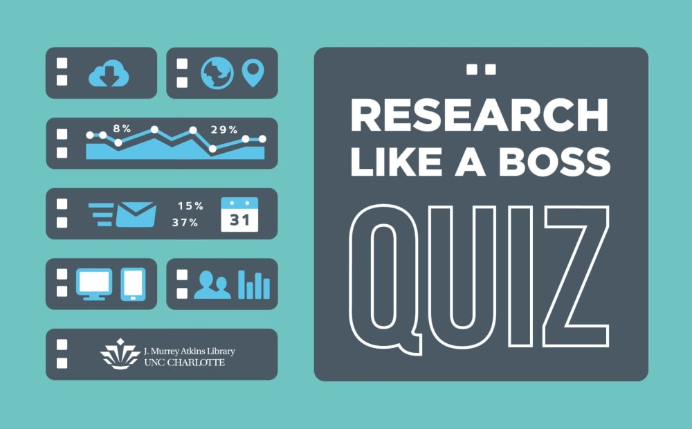 Research Like a Boss Quiz Graphic