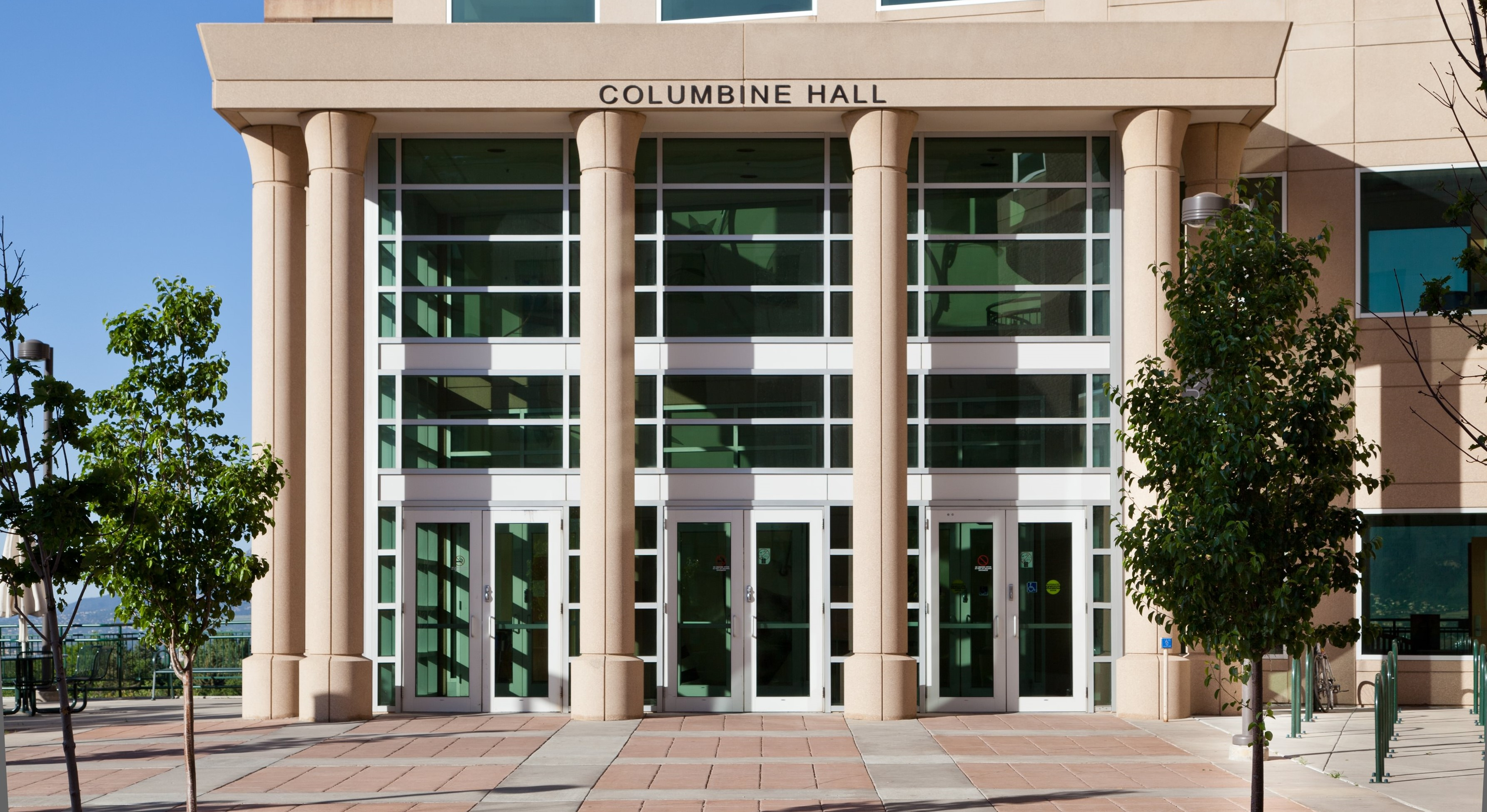 Picture of the exterior of Columbine Hall at UCCS.