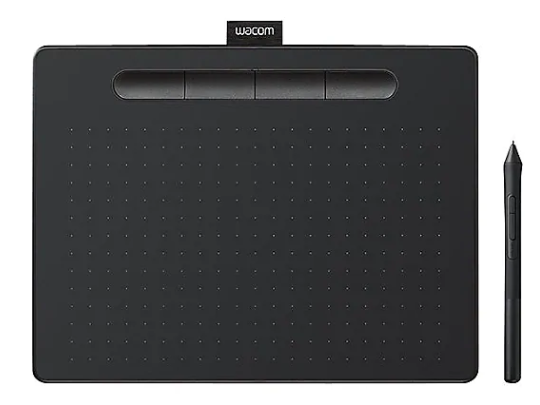 Wacom Intuos drawing tablet & stylus