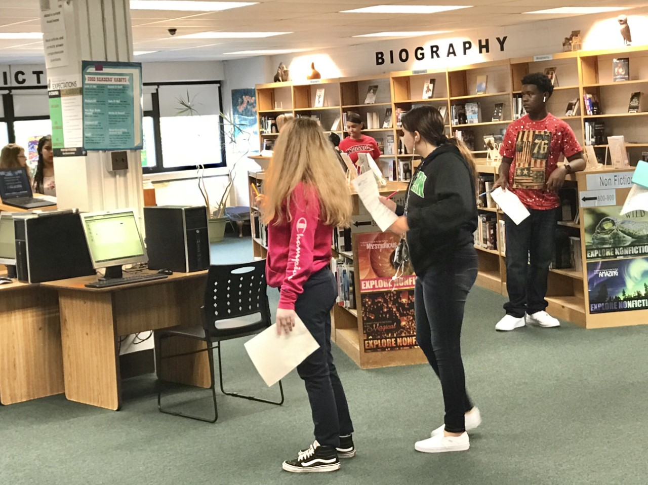 Library Scavenger Hunt to Learn the Library and Find a Good Read