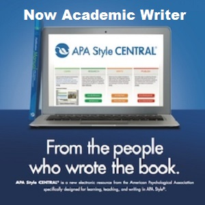 APA Style Central for all your APA needs