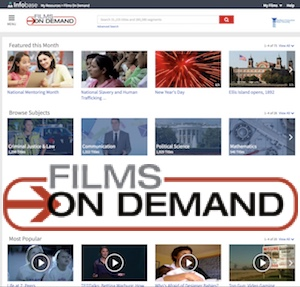 Films On Demand Video Streaming Database
