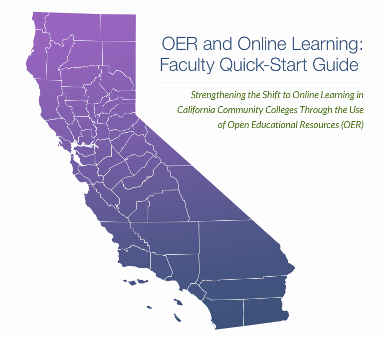 Cover image for OER and Online Learning: Faculty Quick-Start Guide