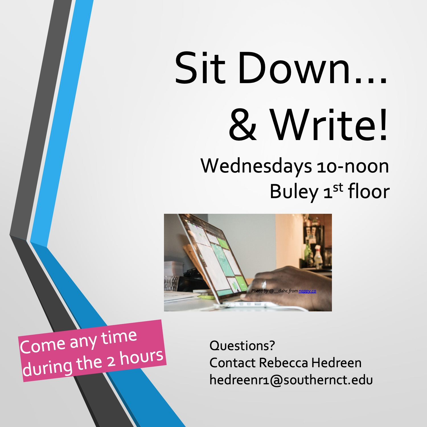 Sit Down and Write event series