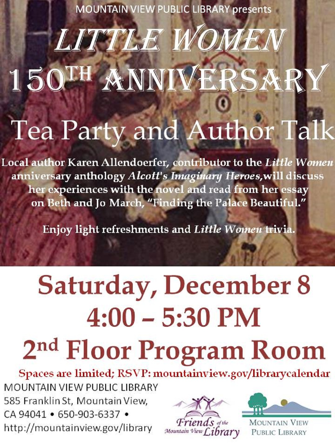 Little Women 150th Anniversary: a Tea-Time Lecture