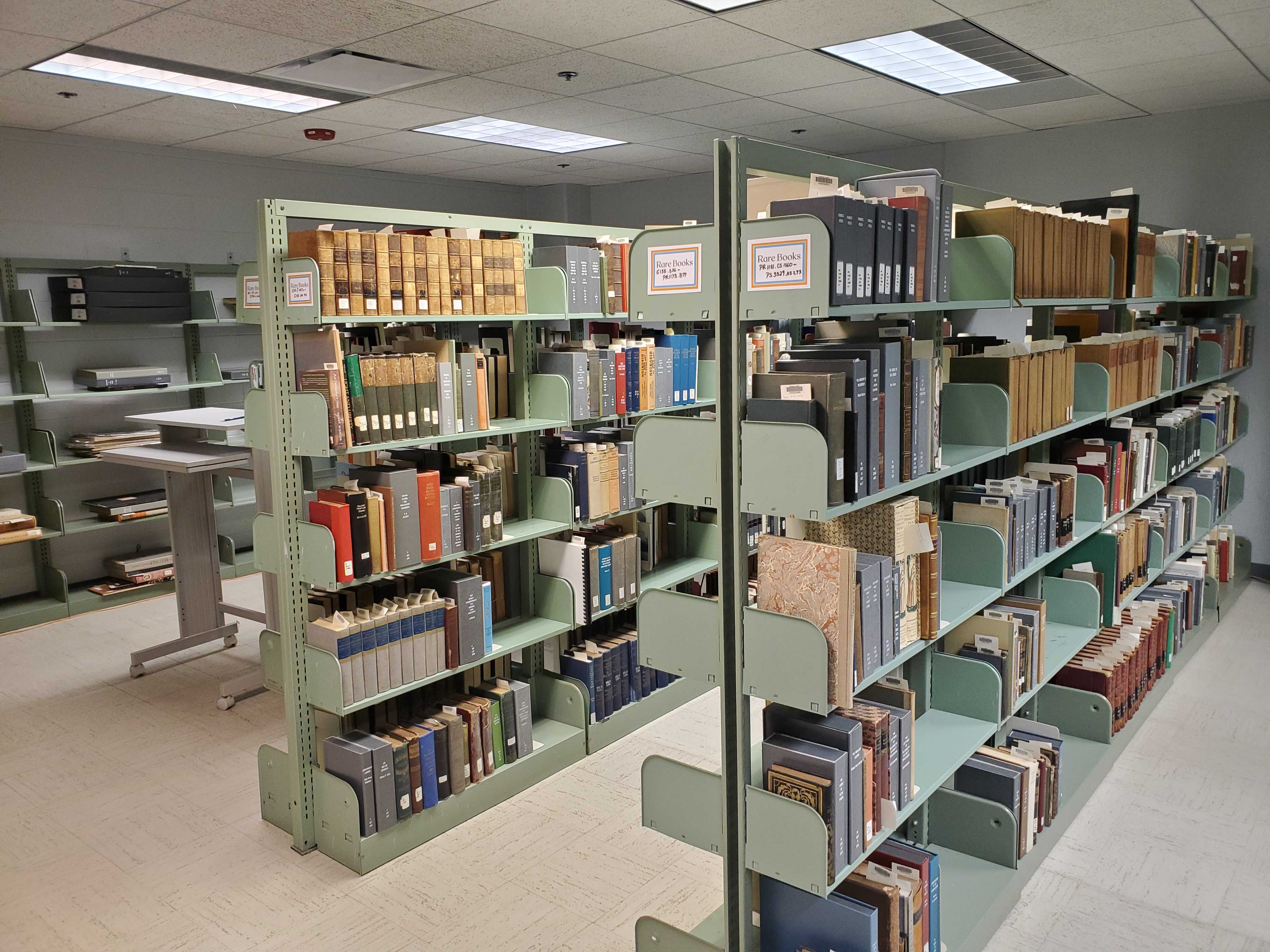Special Collections Storage