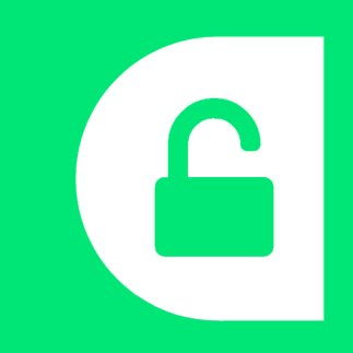 unpaywall unlocked padlock icon