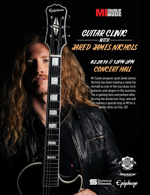 GUITAR CLINIC WITH JARED JAMES NICHOLS