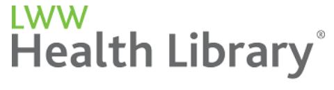 logo for LWW Health Library