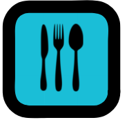 Icon: Cutlery, Food