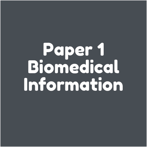 Paper 1  - biomedical information
