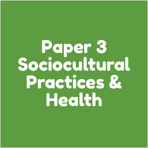 Paper 3 - Sociocultural practices and health