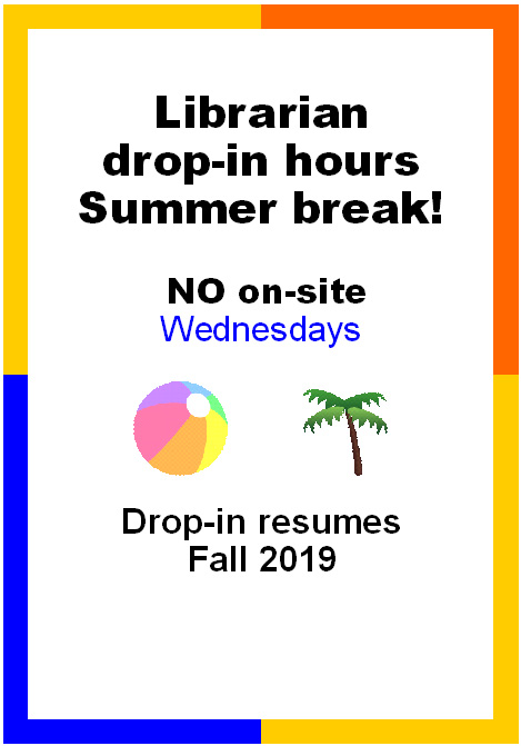 No drop in hours this summer; service resumes Fall, 2019.
